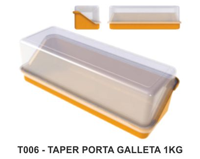 TAPER PORTA GALLETAS 1KG