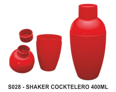 SHAKER COCKTELERO 400ML